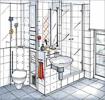 Impianti idraulica - Impianto acqua bagno ...
